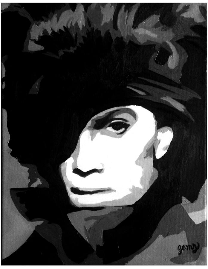Prince Painting - Prince by Erin Salazar
