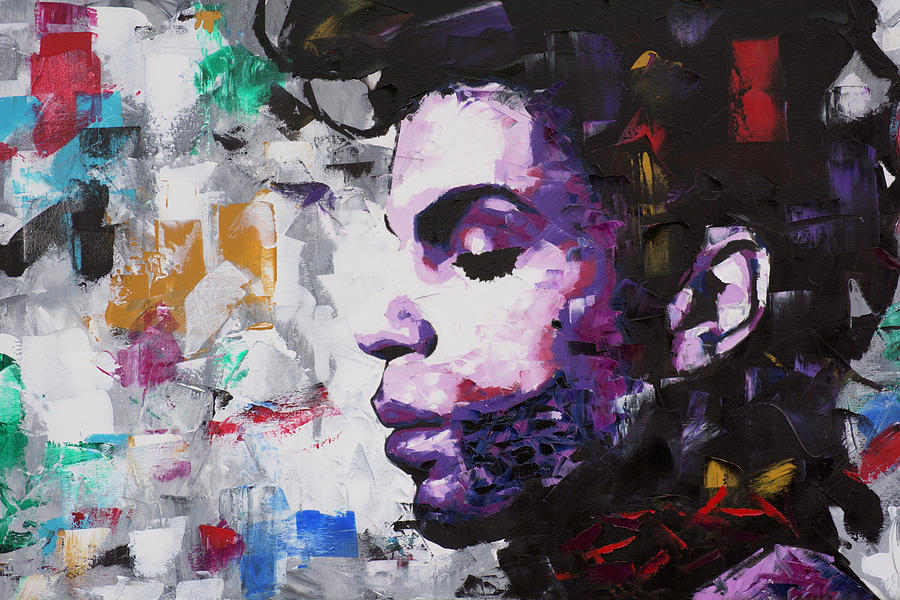 Prince Painting - Prince Musician II by Richard Day