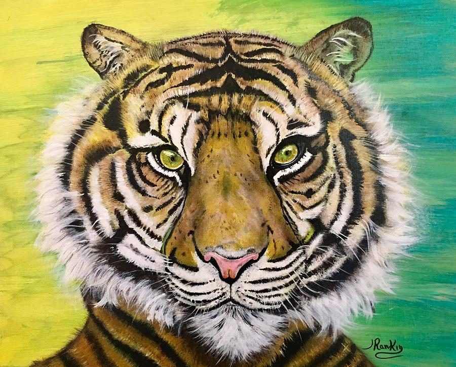Big Tiger Painting - Prince Of The Jungle by John Rankin