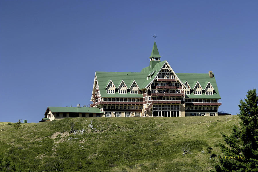 Prince Of Wales Hotel Photograph - Prince Of Wales Hotel by Tom Buchanan