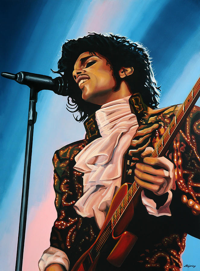 Prince Painting - Prince Painting by Paul Meijering