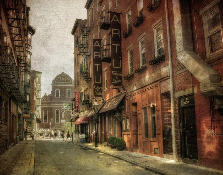 Prince St. - North End Boston Photograph