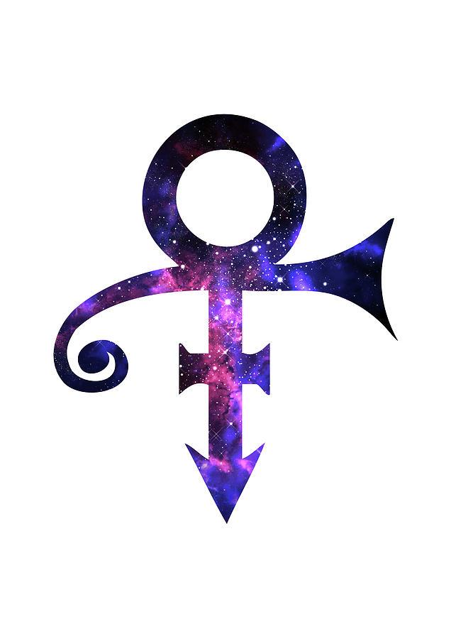 Prince Symbol Digital Art By Elmas Polat Basoglu