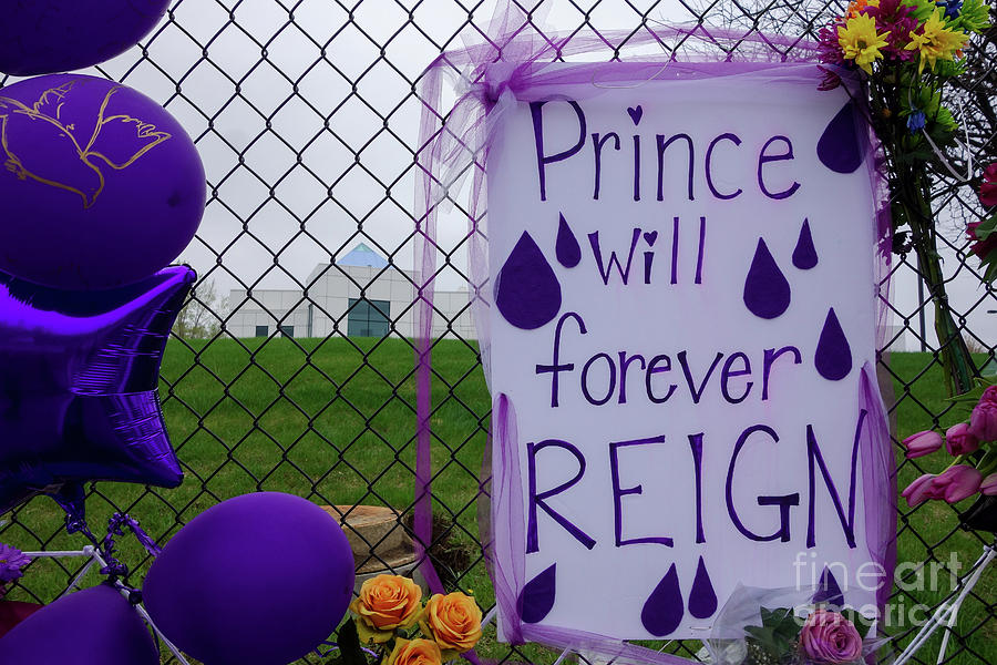 Prince Will Forever Reign Photograph