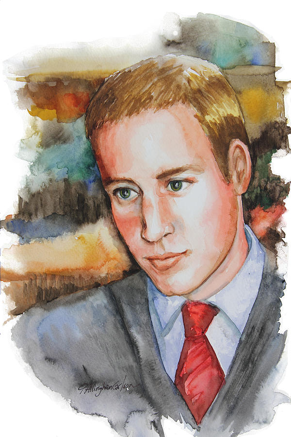 Prince William Painting - Prince William by Patricia Allingham Carlson
