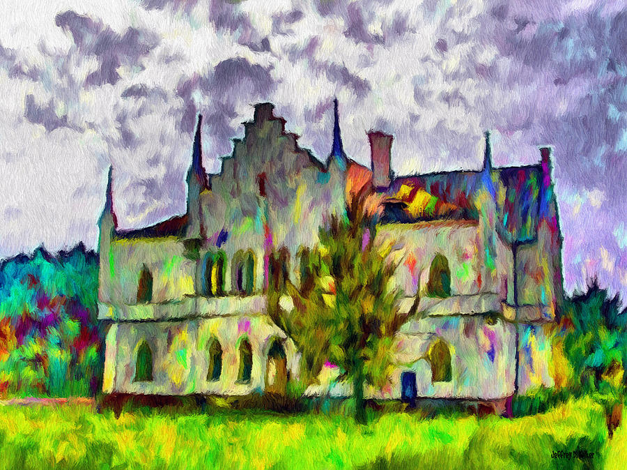 Wallachia Painting - Princely Palace by Jeff Kolker