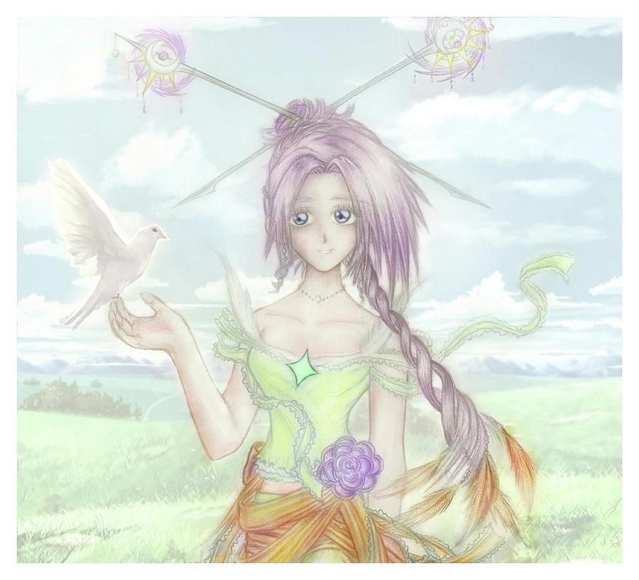 Princess Altiana Colour by Shawn Dall