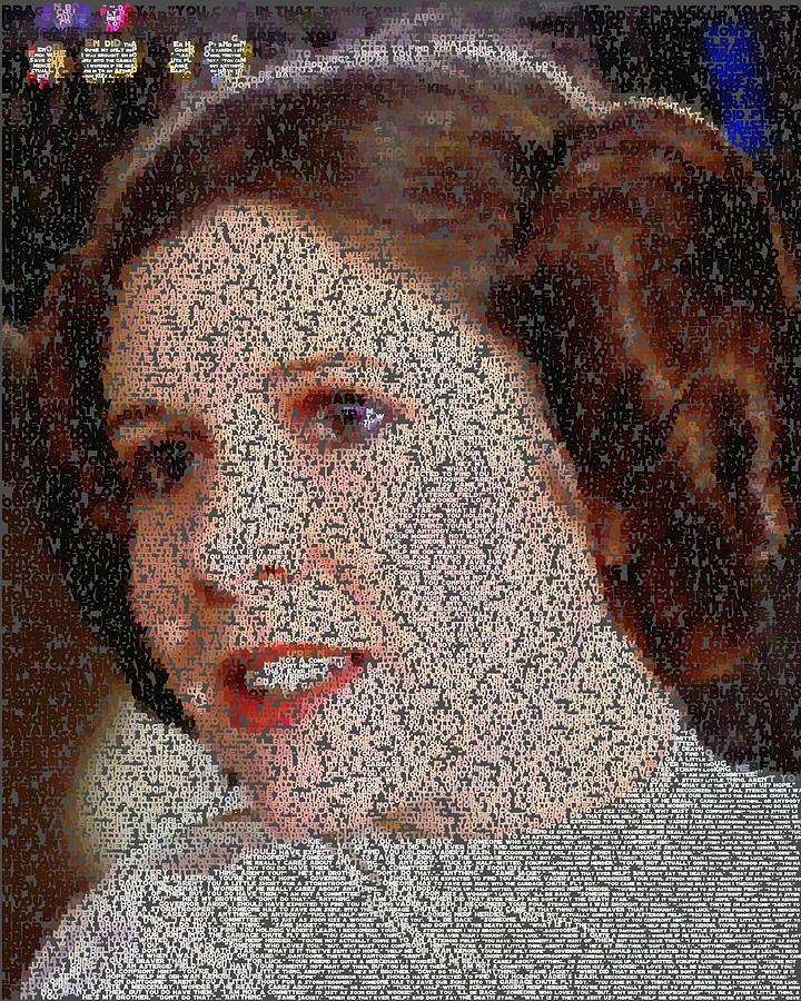 Princess Leia Quotes Mosaic