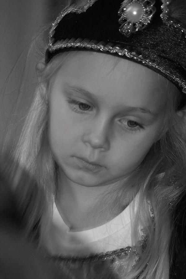 Portrait Photograph - Princess by Lisa Johnston