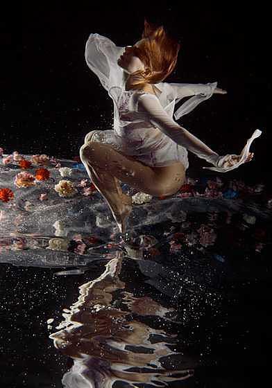 Underwater Photograph - Princess Ll. by Libor Spacek