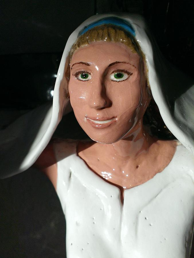 Princess Of Peace Ceramic Art by Frederick Dost
