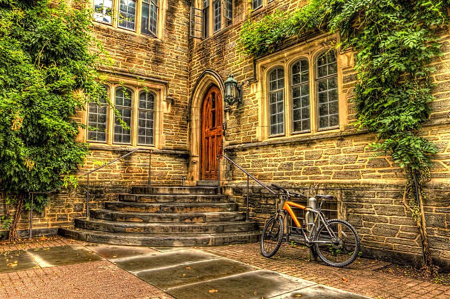 Princeton Gothic Building Photograph