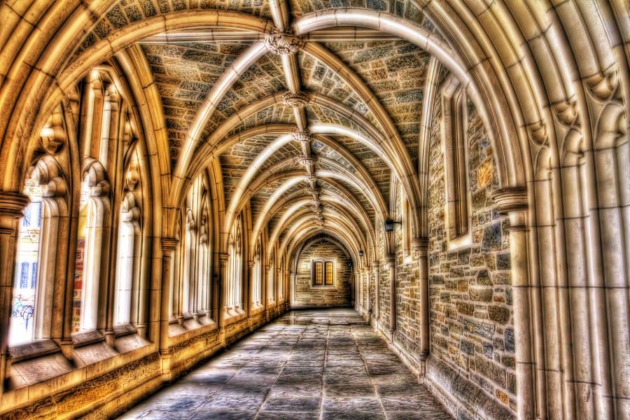Princeton University Arches Photograph