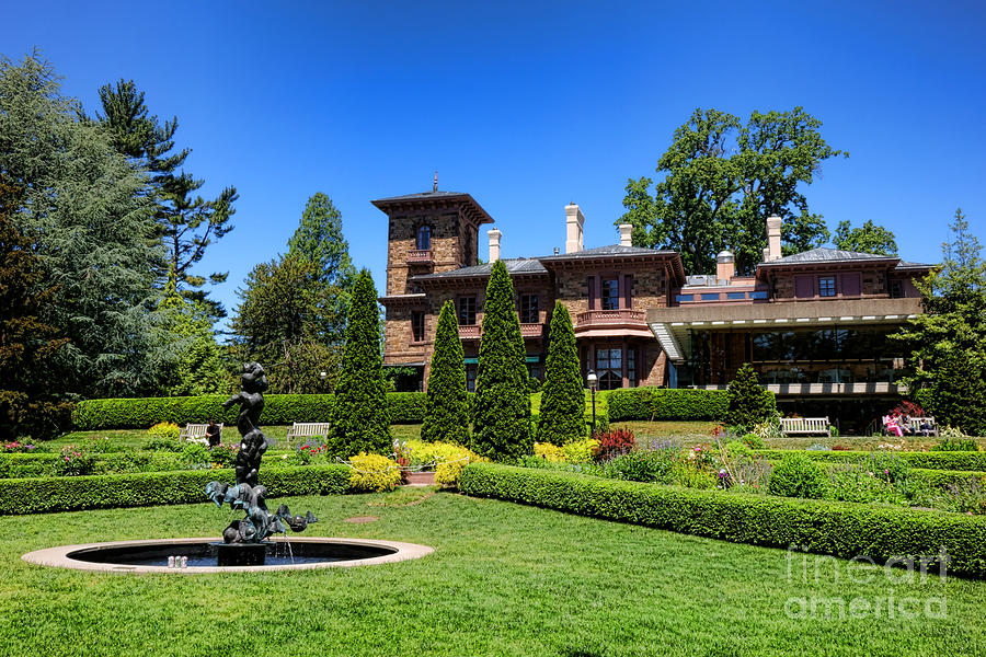 Princeton University Prospect Gardens And House Photograph