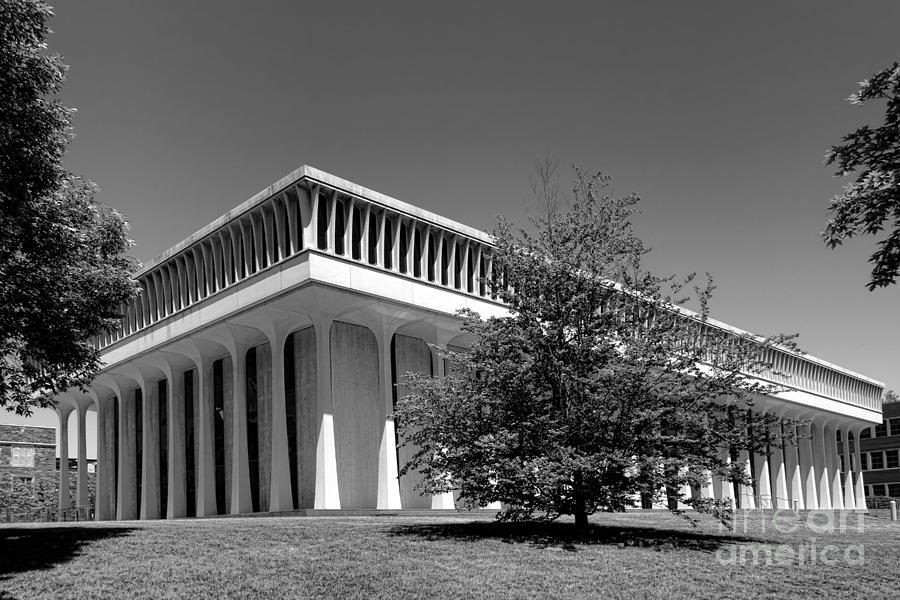 Princeton Photograph - Princeton University Robertson Hall by Olivier Le Queinec