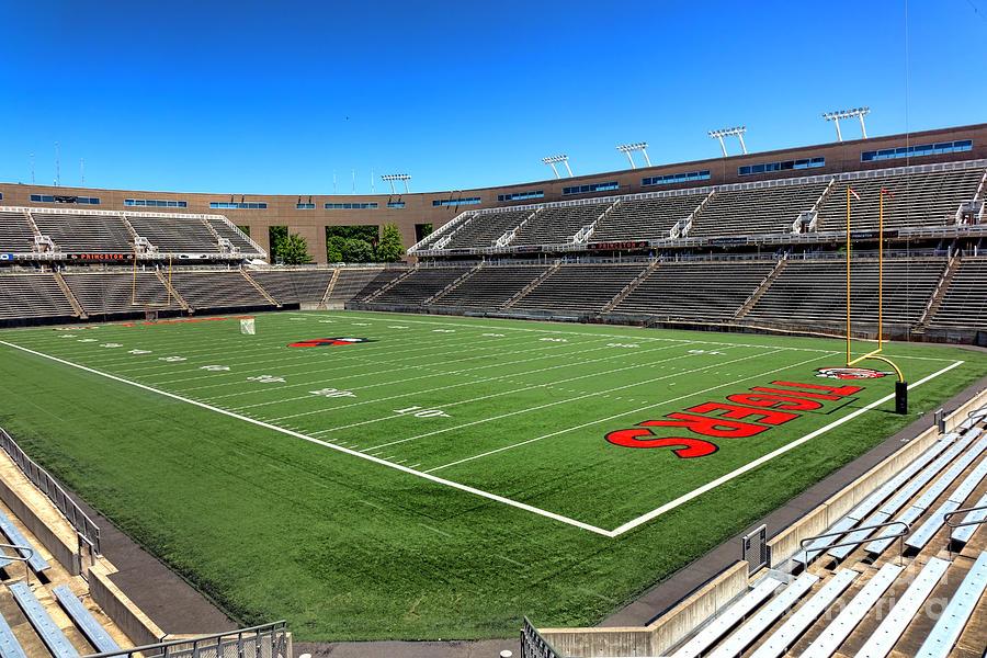 Princeton Photograph - Princeton University Stadium Powers Field by Olivier Le Queinec