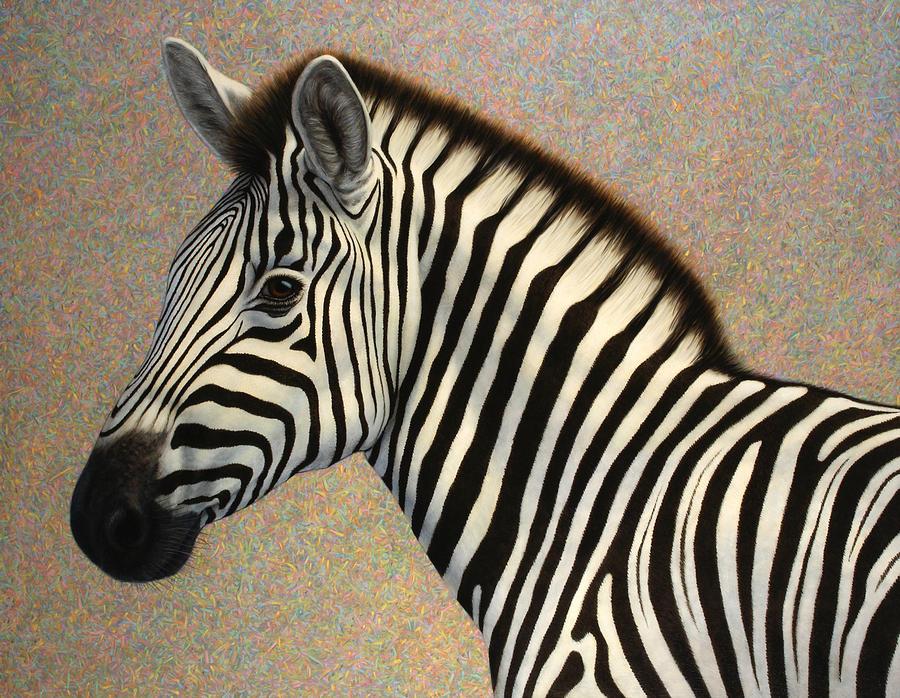Zebra Painting - Principled by James W Johnson