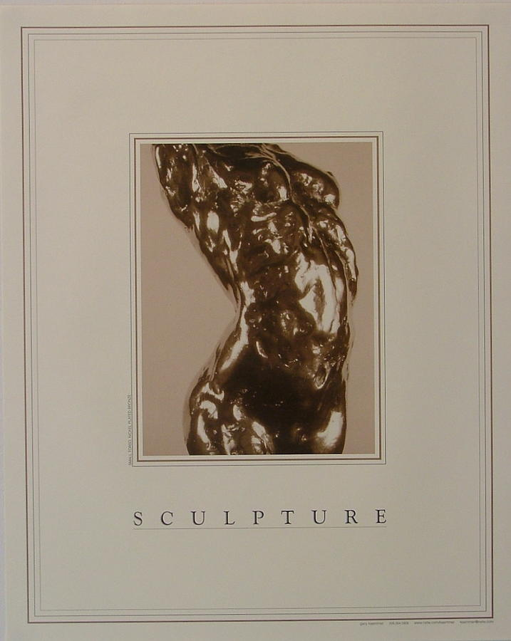 Female Nude Painting - Print Of Sculpture By The Artist by Gary Kaemmer