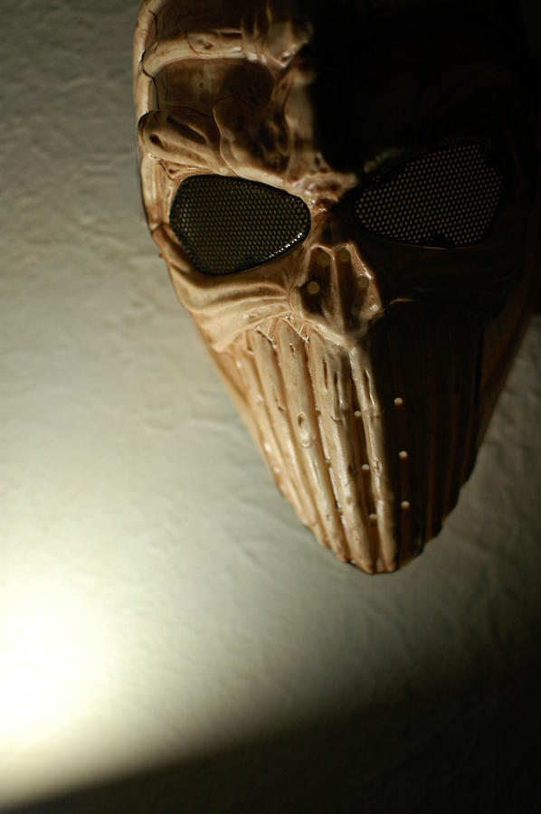 Color Photography Photograph - Mask One by Kirk Griffith