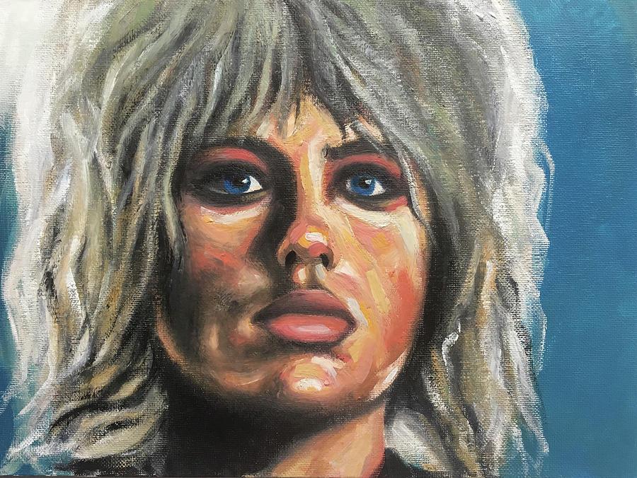 Pris Painting - Pris by Seamas Culligan