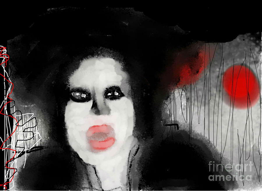Digital Art - Priscilla  Queen Of The Night by Rc Rcd