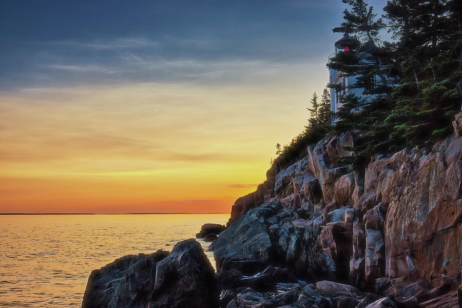 Acadia National Park Photograph - Prismatic Sunset by Zev Steinhardt