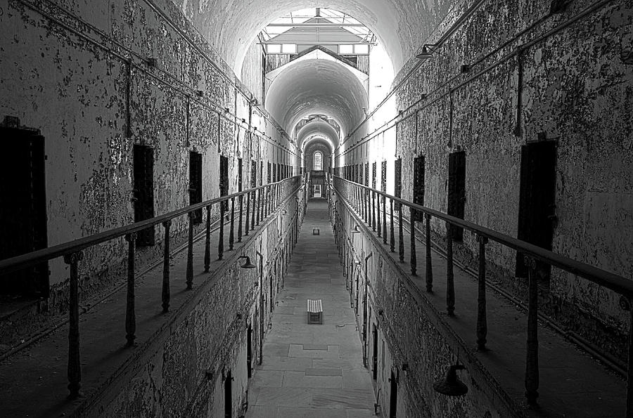 Prison Cell Hall Photograph
