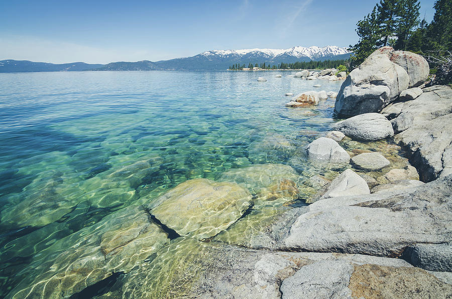 California Photograph - Pristine Waters by Margaret Pitcher