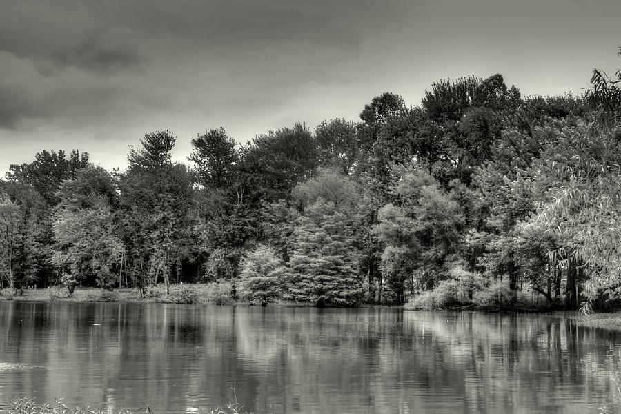 Prizer Point Black and White by Angela Comperry