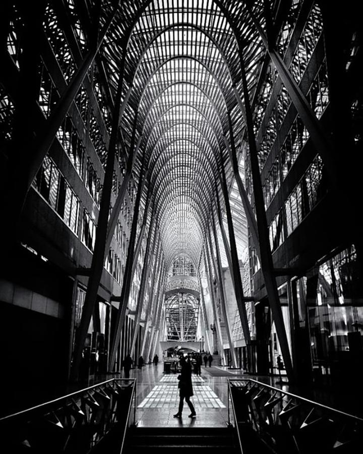 Toronto Photograph - Probably One Of The Most Photographed by Brian Carson