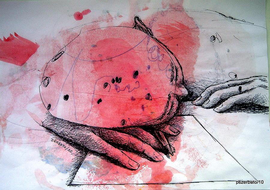 Process Digital Art - Process Of Inspiration by Paulo Zerbato
