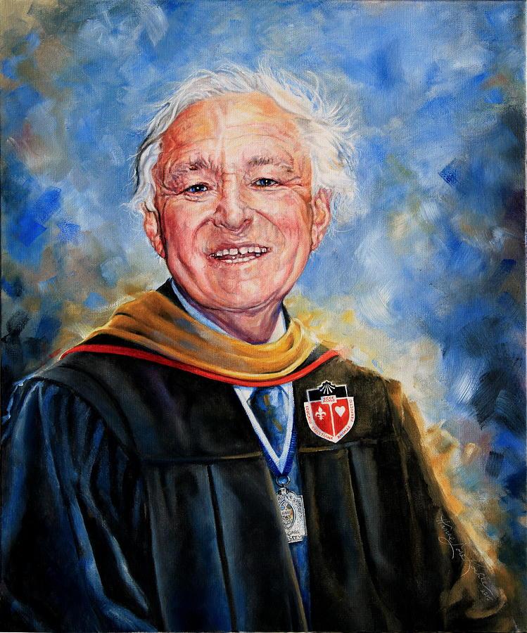 Professor Portrait Commission Painting