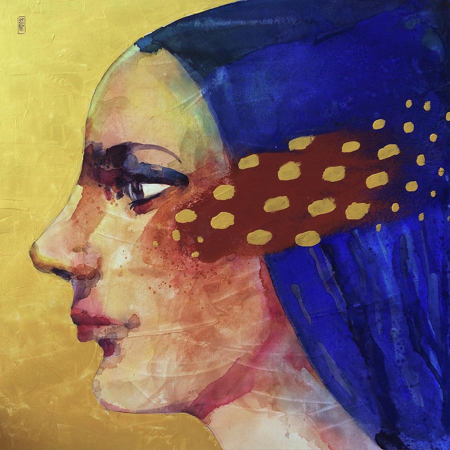 Face Painting - Profilo Di Donna by Alessandro Andreuccetti