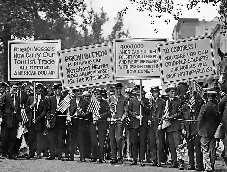 prohibition threw america into thirteen years of chaos The united states of america (usa), commonly known as the united states (us) or america, is a federal republic composed of 50 states, a federal district, five major self-governing territories, and various possessions.