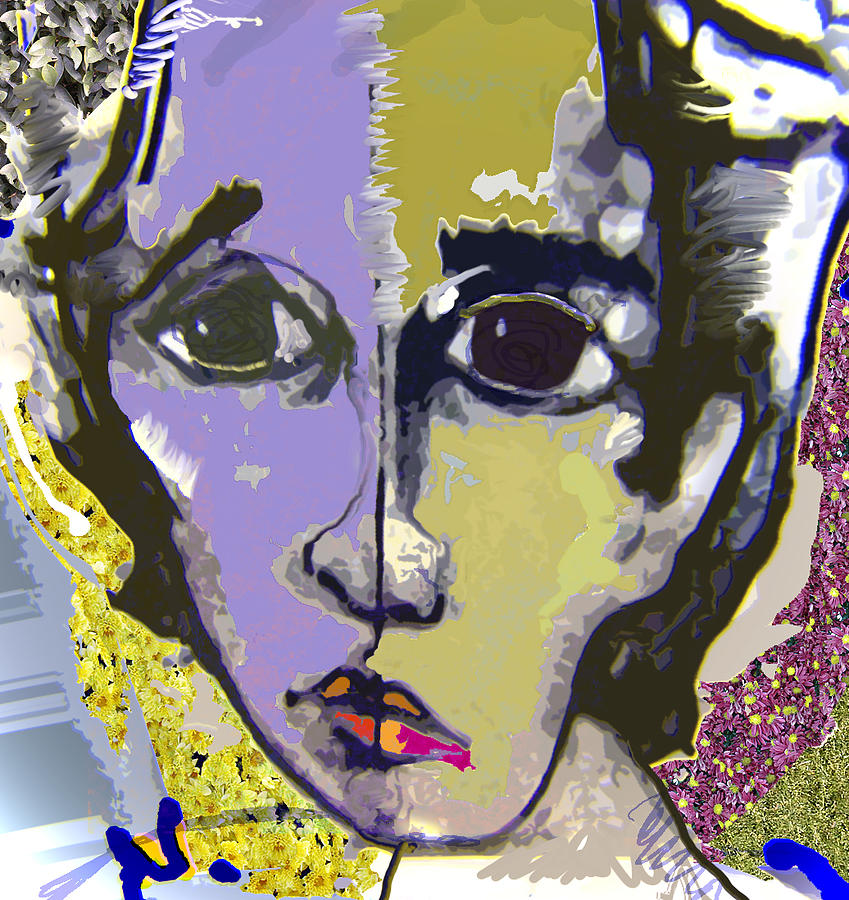 Portrait Mixed Media - Projection by Noredin Morgan