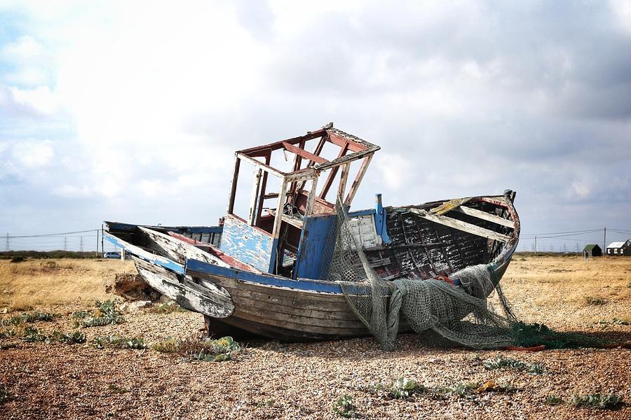Landscape Photograph - Projekt Desolate Birdseye by Stuart Ellesmere