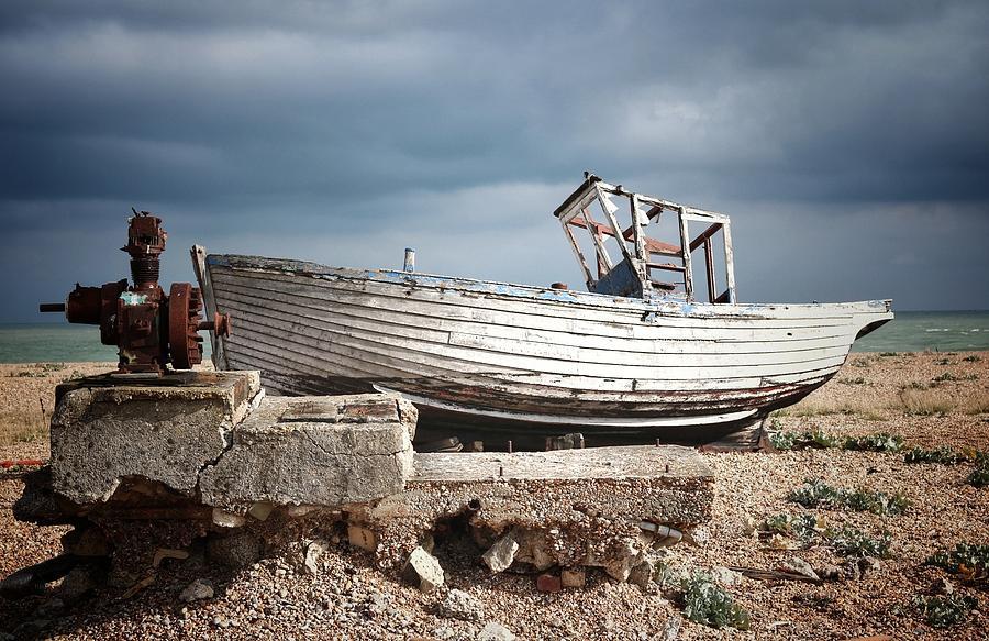 Boat Photograph - Projekt Desolate. His N Hers. by Stuart Ellesmere