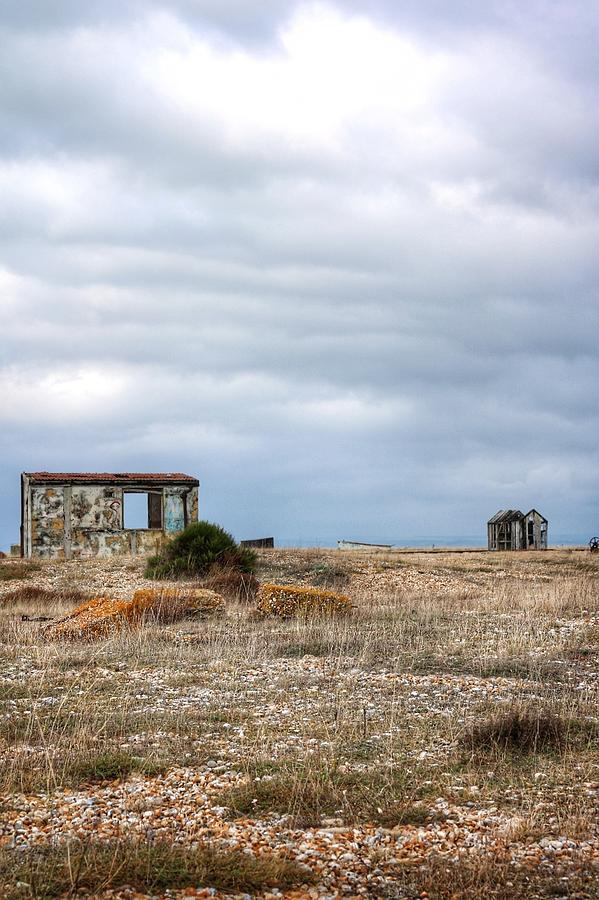 Landscape Photograph - Projekt Desolate Loveshack V by Stuart Ellesmere