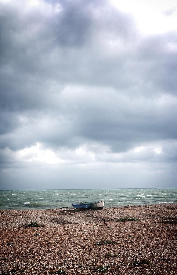 Landscape Photograph - Projekt Desolate Paddle by Stuart Ellesmere