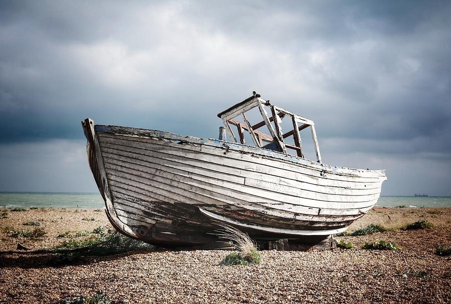 Landscape Photograph - Projekt Desolate Runashore H by Stuart Ellesmere
