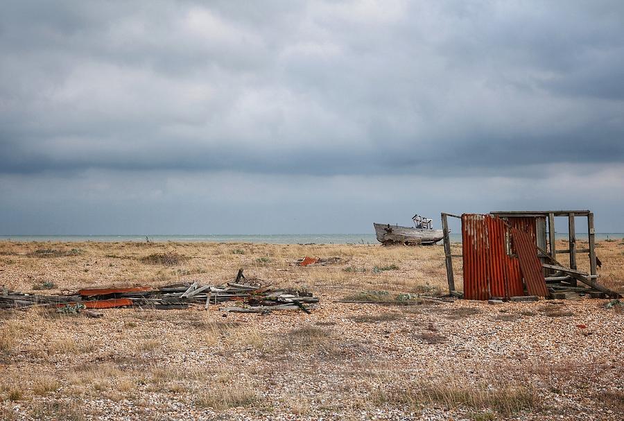 Landscape Photograph - Projekt Desolate The Triple by Stuart Ellesmere