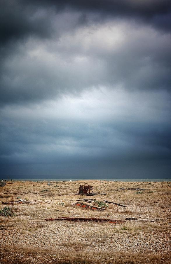 Landscape Photograph - Projekt Desolate Workspace  by Stuart Ellesmere