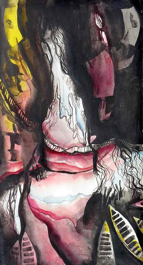 Prokiti-2 Painting by Iffat Nonee