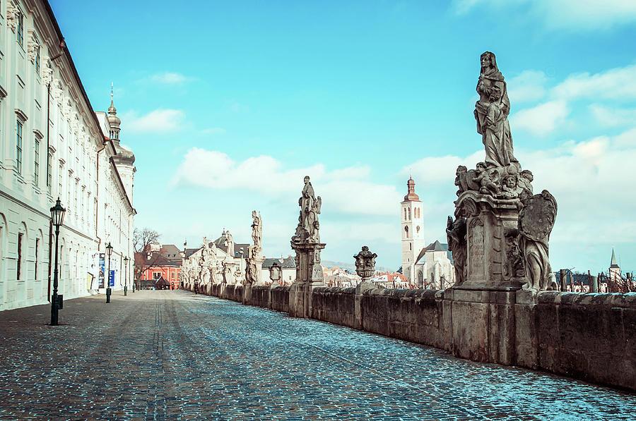Promenade At Jesuit College In Kutna Hora Photograph