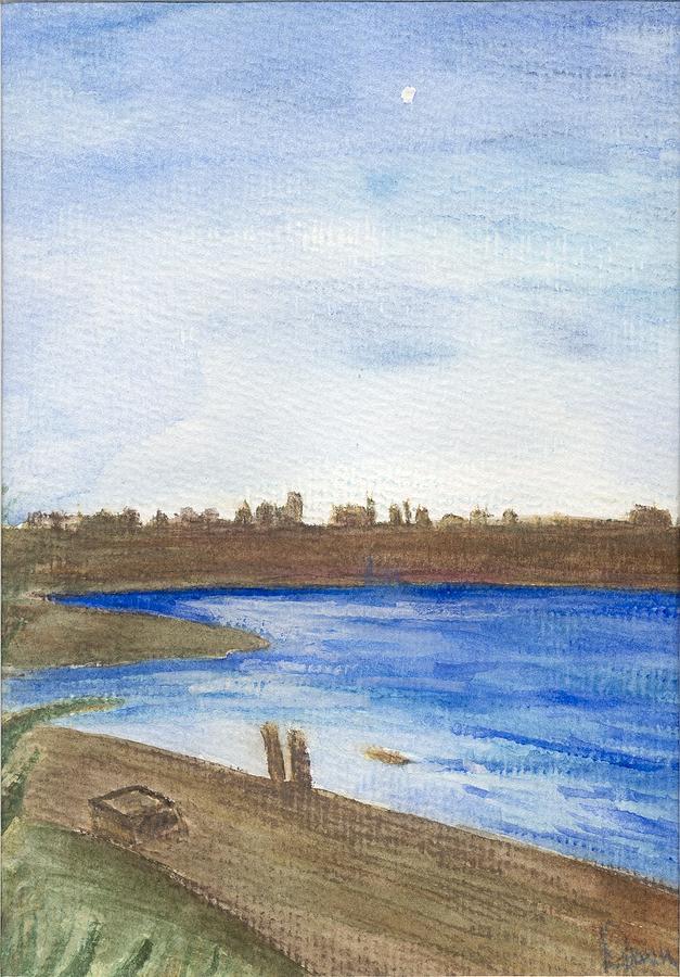 Water Painting - Promenade by Dawn Marie Black
