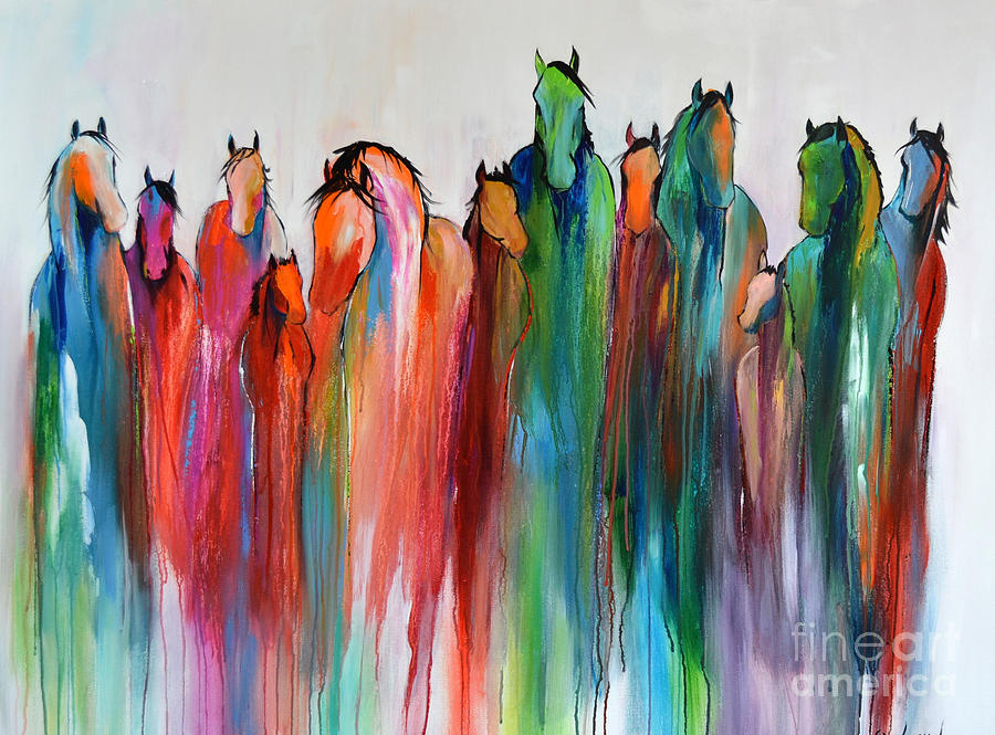 Horse Painting - Promise by Cher Devereaux