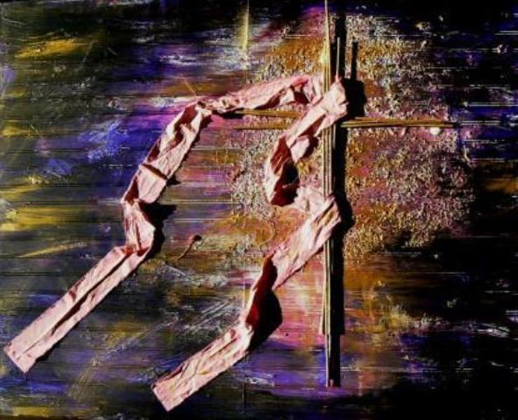 Cancer Painting - Promise by Latonja Davis-Benson