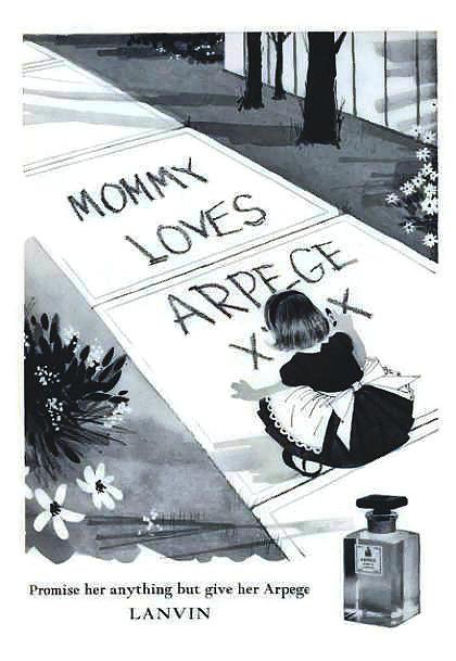 Perfume Ad Digital Art - Promises by ReInVintaged
