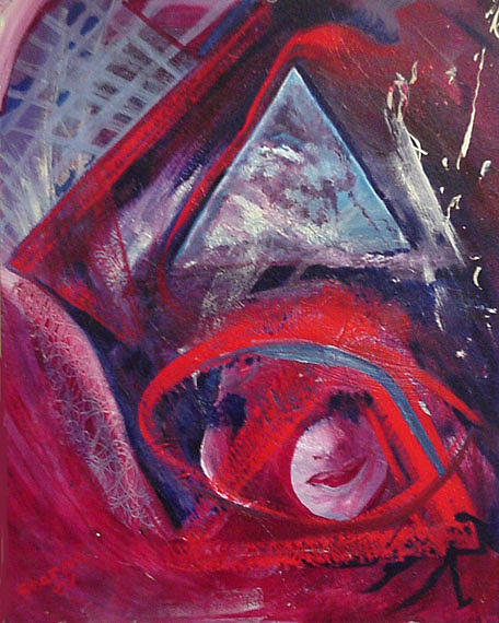 Acrylic Painting - Prophecy by Sharon Wilfong