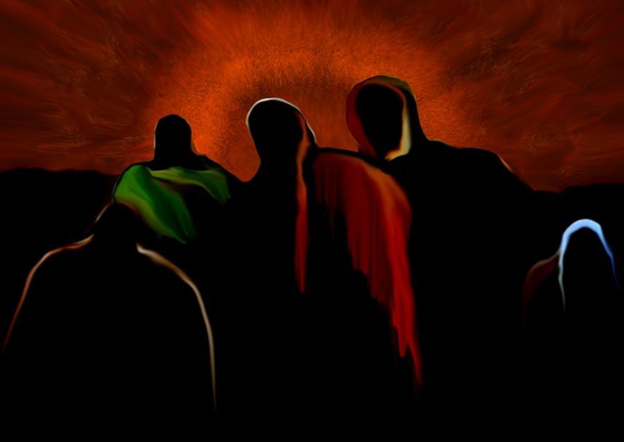 Prophets Digital Art by Marcelo Macedo Flores Macedo